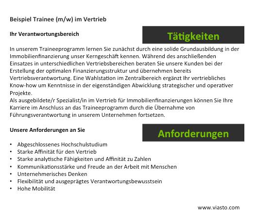 Recruiting Guide - Stellenprofil