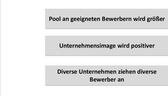 Diversity in der Personalauswahl