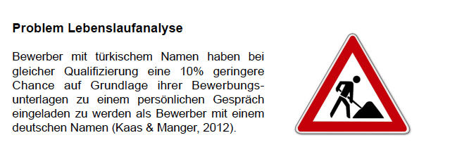 Problem Bewerbungsgespräch_Problem CV Analyse